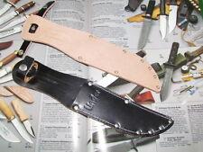 Messerscheide für Linder(Rehwappen) Messer Solingen. Für Klingenlänge ca.13 cm