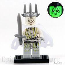 Custom Witch-king Ghostly LOTR Minifigure fits with Lego pg518 UK Seller Hobbit