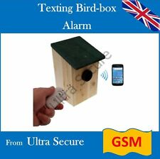 Outdoor 3G GSM PIR Alarm (UltraPIR Texting Bird-box) Remote Control Operated
