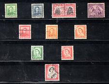 Nueva Zelanda Monarquias valores del año 1938-54 (BN-184)