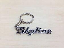 RETRO SKYLINE Classic Emblem Keyring Key chain for 2000 GT C210 R31 R32 R33 DR30