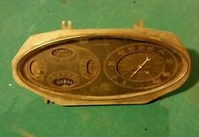1934 Plymouth gauge cluster speedometer oil battery temperature amperes 34