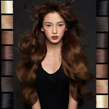 US On Sale Full Head Clip in Remy Real 100% Human Hair Extensions 20 22 24 N947