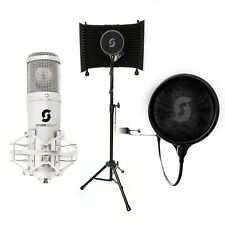 HOME RECORDING Bundle-SL150 USB MICROFONO vocale Booth Pro e filtro POP