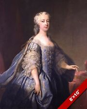 PRINCESS AMELIA OF GREAT BRITAIN PORTRAIT PAINTING HISTORY ART REAL CANVAS PRINT
