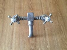 VINTAGE BRASS BATH TAP OLD BATHROOM MIXER TAP