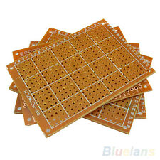 10pcs Solder Finished Prototype PCB For 5x7cm Circuit Board Breadboard DIY Gift