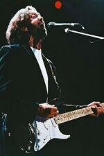 Eric Clapton With Guitar in Concert 11x17 Mini Poster