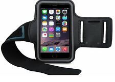 Outdoor Gym Sport Armband Skin Case Cover for iPhone 6Plus/6sPlus – Black