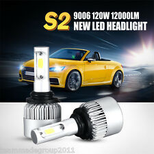 2x 120W 6500K 9006 / HB4 LED Headlights Fog Light Lamp Kit Offroad Car Driving