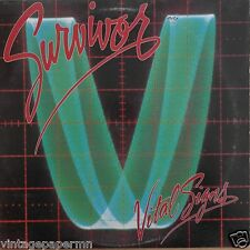 Survivor Vital Signs 1984 Vinyl LP Scotti Bros. Records FZ 39578