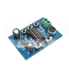 New ISD1820 Sound Audio Voice Board Recording Playback Adapter Module Microphone
