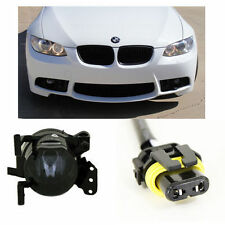 2007-09 BMW E92 M3 STYLE FRONT BUMPER W/ SMOKED FOG LIGHTS & 9006 CONNECTORS