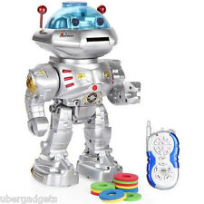 Jumbo Space Fighter Talking And Shooting Robot 12 Inch Rc Remote