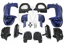 Mutazu Cobalt Blue Lower Vented Fairing Kit for Harley Touring FLHR FLHX FLTR