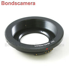 AF confirm M42 Screw Mount Len to Nikon F mount Camera Adapter D90 D5300 optical
