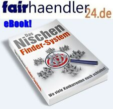 eBook Das NISCHEN FINDER SYSTEM Internet Online Business EBAY AMAZON HOOD 1A MRR