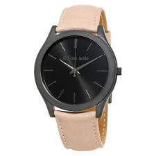 Michael Kors Slim Runway Black Dial Mens Casual Watch MK8510