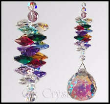 Crystal Suncatcher MW 40mm Swarovski Crystal AB Ball - Multi Colour's - Gift Gox