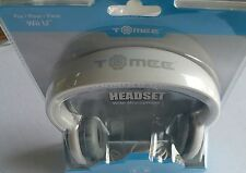 New Factory Sealed Tomee Wii U Gaming Chat Headset Headphones W/ Mic Microphone