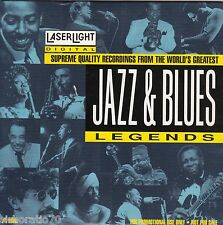 JAZZ & BLUES Legends CD - 15 Supreme Quality Recordings - LaserLight - PROMO