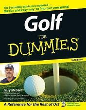 Gary McCord GOLF FOR DUMMIES large paperback book (2006)