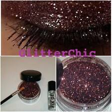 Glitter Eyes Bronze with Fix Gel, Application Wand loose glitter makeup Sparkles