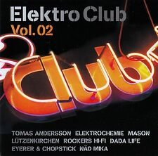 ELEKTROCLUB VOL.2 - BEST IN ELECTRONIC CLUBSOUNDS / 2 CD-SET - NEU