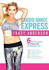 THE TRACY ANDERSON METHOD CARDIO DANCE EXPRESS WORKOUT DVD NEW EXERCISE
