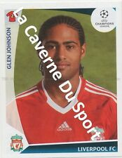 N°280 GLEN JOHNSON # ENGLAND LIVERPOOL.FC STICKER PANINI CHAMPIONS LEAGUE 2010
