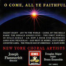 O Come All Ye Faithful Classical Christmas CD, Sep-1989, Angel Records 24 tracks
