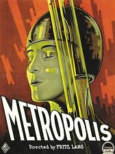 FILM METROPOLIS MOVIE LANG ART POSTER PRINT LV1577