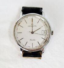 Armbanduhr Uhr Herren CONTINENTAL vintage Quartz Datumsangabe swiss made