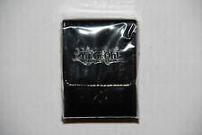 YU GI OH YUGIOH LEATHER DECK BOX BLACK BRAND NEW FACTORY SEALED