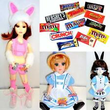 "12 pc Easter Candy Miniatures Chocolate Bars for 10"" - 18"" Dolls 1/6 to 1/4 BJDs"