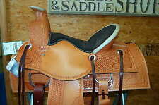 "16"" G.W CRATE WADE ROPING SADDLE CUSTOM LIFETIME WARRANTY FREE SHIP ALABAMA MADE"