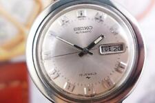 Classic Vintage Seiko 7006 8070 SS Day/Date Automatic 40mm