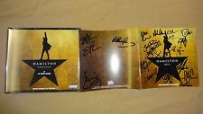New 19-20 x Signed CD Hamilton Broadway Musical Lin Manuel Cast Soo Diggs Groff