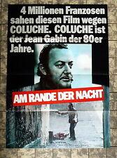 AM RANDE DER NACHT / Tchao pantin - A1-FILMPOSTER - German 1-Sheet -1985 COLUCHE