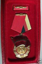 EAST GERMAN MEDAL- Third Class -  Order of the Banner of Labor, cased, MINT