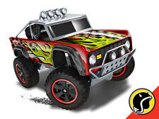 Hot Wheels Cars - Custom Ford Bronco Red