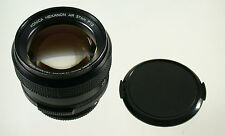 KONICA Hexanon AR 1,2/57 57 57mm F1,2 1,2 superfast adaptable A7 EOS MFT NEX top