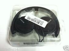 Sony Genuine MDR-ZX110 Stereo Swivel Headphone Black MDRZX110 EXCELLENT