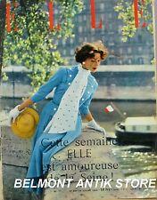 Elle n°447 - 1954 - La semaine à vol de moineau - Le coton - 24h du Mans -