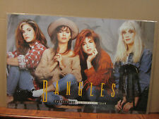 Bangles Everything Everywhere tour rock n roll pop 1989 original Poster 2656