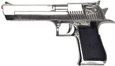 DESERT EAGLE .50 CAL NON-FIRING REPLICA CHROME PISTOL DENIX MOVIE PROP
