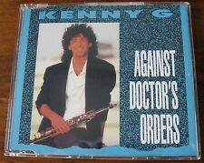 Kenny G - Against Doctor's Orders - Scarce 1989 Mint Cd Single - Beauty!
