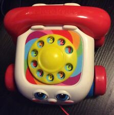 Fisher-Price Pull Along Chatter Telephone.