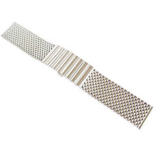 20mm Staib Mesh LONG 170mm Matte Stainless Steel German Mens Watch Band Bracelet