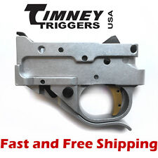 Timeny Ruger 10/22 Drop-In Competiton Trigger Group Silver Housing & Gold Shoe